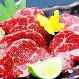 【肉料理】和牛ステーキ/牛タン/馬刺し/串カツ/肉巻き/アボカド豚