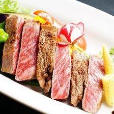 和牛ステーキ&牛タン&馬刺&肉寿司