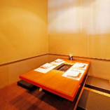 デートや接待でのお食事は、プライベートな個室空間でお楽しみください。