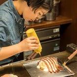 美味しい広島流お好み焼きを各種ご宴会でぜひご利用ください。