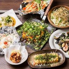 新広島焼と鉄板料理のお店でご宴会