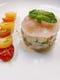 真鯛と夏野菜のタルタル