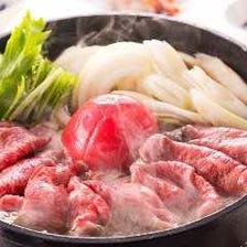 肉料理と豆腐料理