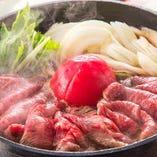 和牛トマトすき焼き会席