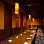 【熊谷駅 徒歩3分】個室は2名~最大40名様ご利用可能!