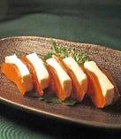 奈良漬とクリームチーズ