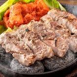 石焼とん豚ジューステーキ