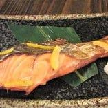 北海道 生鮭の柚庵焼き