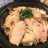 鳥取県 大山地鶏と木の子の釜炊きご飯