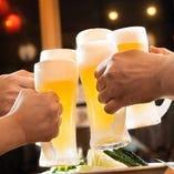 この度新しいビールを仕入れました!ハートランド/ハイネケン/よなよなエール/ブルックリンラガー/東京ホワイト/ゆずラガーを新入荷し、よりCrab Shrimp and Oysterをお楽しみ頂けるように♪それぞれ特徴の違うテイストをぜひ飲み比べでご堪能下さい!