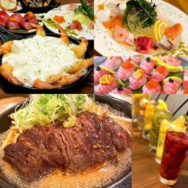 海鮮×肉×鉄板バル okiumiya  コースの画像