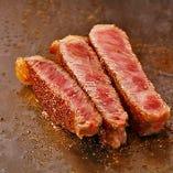 国産牛サーロインステーキ50g『キッズステーキコース』