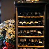 お祝いの乾杯に相応しいシャンパンもございます♪お気軽にお申し付けください