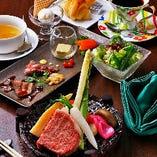 国産牛ステーキ『錦 -Nishiki- コース』