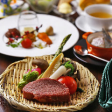 A4以上の黒毛和牛サーロイン 又は フィレステーキ『雅 -Miyabi- コース』 宴会 歓迎会 送別会 記念日