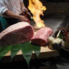 特別な日の夜に☆五感で楽しむ鉄板焼
