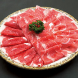 ロース肉3種盛り合わせ