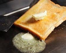 ★パンは、バターで焼きます★
