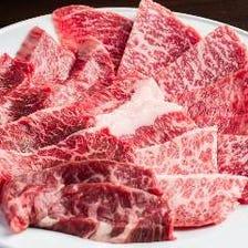 存分に楽しめる焼肉&厚切りステーキ