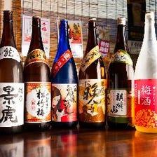 九州各地の美酒銘酒を贅沢に楽しむ