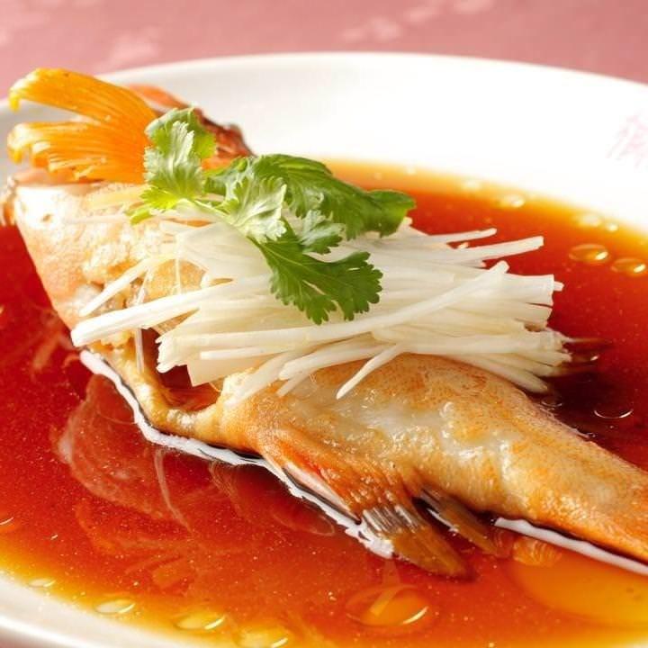 新鮮な魚介類をお好きな調理法で!