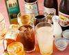 飲み放題付きコース:標準の飲み放題内容