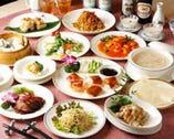 『美味口福(びみこうふく)』 コースは、季節の食材をお楽しみいただけます。