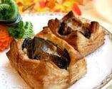 香港式 活アワビの焼きパイ