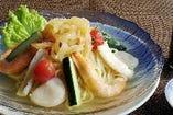 海鮮冷麺 ※季節限定メニュー