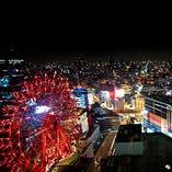 ◆夜景◆ 関西トップクラスの夜景を思う存分お楽しみ下さい。