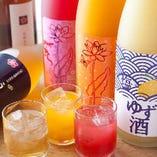 天満梅酒大会で入賞した梅酒果実酒揃えています!!