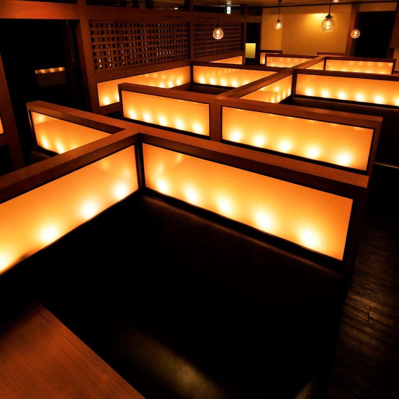 梅田駅2分 全席個室 完全個室もあり