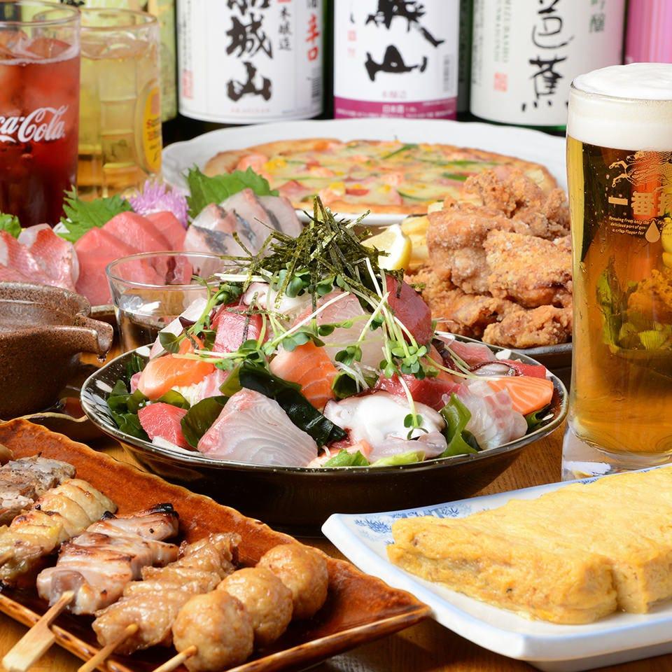 飲み放題つき宴会コース3500円~!!