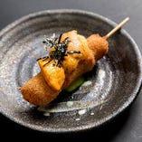 【季節の味覚を楽しむ】 料理長おまかせの串カツコース(お料理のみ)