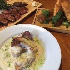 新スペシャルコース★魚介料理やお肉料理が楽しめる贅沢コース2時間飲み放題付き