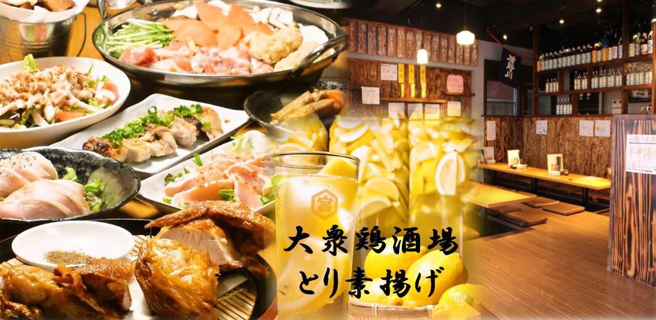 大衆鶏酒場 とり素揚げ 新小岩南口店