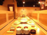 【畳敷きベンチシートBOX席/40名様】☆一体感溢れる焼肉宴会を♪