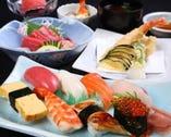 ◆板前寿司を愉しむ◆ Aコース 飲み放題付5200円(税込)