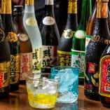 【飲み比べ】 種類豊富な泡盛を飲み放題でじっくり満喫