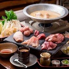 鶏鳥のやんばる水炊きコース<全5品>宴会・飲み会