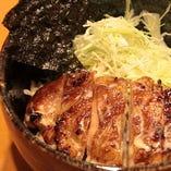 若鶏の特製タレ焼き丼