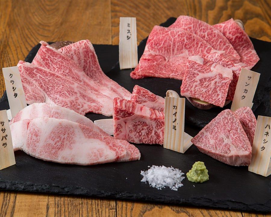 契約牧場の神戸牛を取り扱い