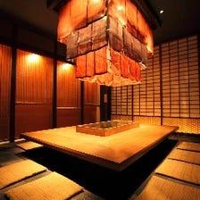 様々なシーンに対応の個性的な個室