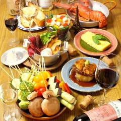 鶏とワイン HANABI 川崎ラチッタデッラ