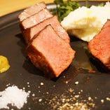 山形県尾花沢 A5ランク雪降り和牛ランプ肉の炭火焼【山形県】