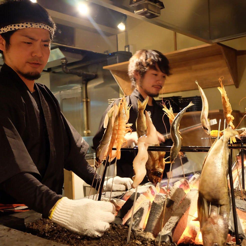 完全个室 日本酒と炭火 度感 目黑店