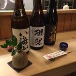 50種類以上のお酒を日本料理と合わせてお楽しみください
