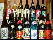 種類豊富なお酒の数々!