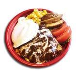 肉屋のつくったロコモコ丼 800円(税込)