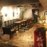 広々空間で各種貸切パーティーに♪15~24名様までの少人数・中規模貸切が可能!